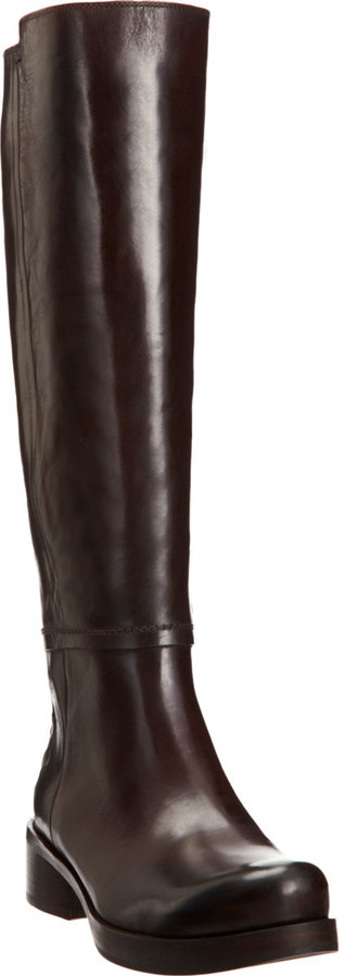 CNC Costume National Seamed Riding Boot