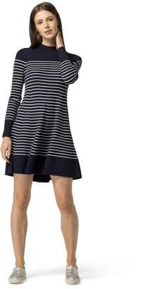 Tommy Hilfiger Maritime Mock Neck Dress