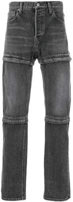 Balenciaga Bal Zipped jeans