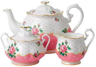 Royal Albert NEW Cheeky Pink Teapot Set 3pce
