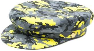 Manokhi camouflage print Biker hat