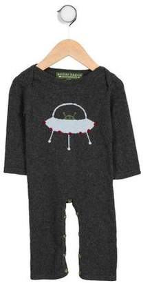 Amber Hagen Boys' Intarsia Long Sleeve All-In-One