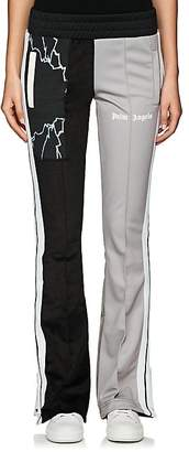 Palm Angels Women's Patchwork Skinny Track Pants