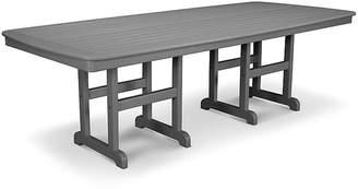 Polywood Nautical Dining Table - Slate Gray