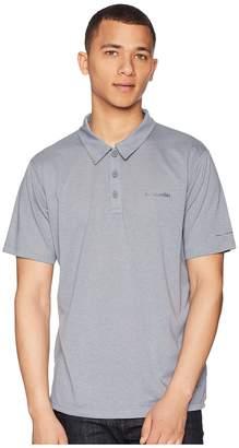 Columbia Silver Ridge Zerotm Polo Men's Short Sleeve Pullover