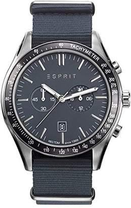 Esprit Men's Chronograph Quartz Watch with Nylon Strap ES108241008