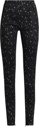 BALENCIAGA Star-print high-rise leggings $945 thestylecure.com