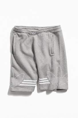 adidas Outline Logo Fleece Short