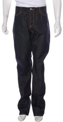 Jean Shop Five-Pocket Straight-Leg Jeans