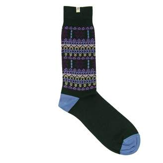 40 Colori - Dark Green Norwegian Organic Cotton Socks