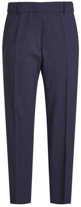 Jil Sander Cropped Virgin Wool Pants