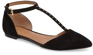 Women's Calvin Klein Gina T-Strap Flat $98.95 thestylecure.com