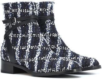 Jimmy Choo Exclusive to Mytheresa Harris 35 tweed ankle boots