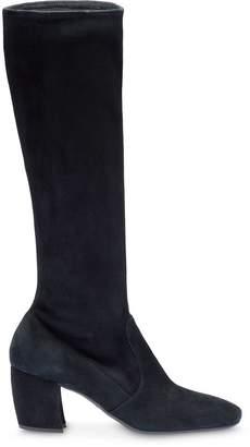 Prada chunky heeled boots