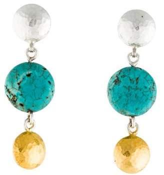 Gurhan Turquoise Drop Earrings
