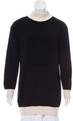 Jacquemus Wool Mock Neck Sweater