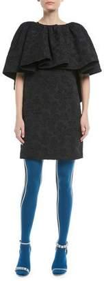 Calvin Klein Side-Stripe Wool Tights
