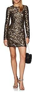 Dolce & Gabbana Women's Leopard-Print Sequin Cocktail Dress