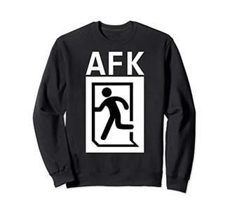 "AFK ""Away from Keyboard"" Gamer Coder Programmer Funny Sweatshirt"
