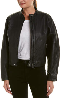 Diesel Taurli Leather Jacket