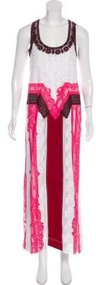 Valentino 2018 Lace Maxi Dress w/ Tags