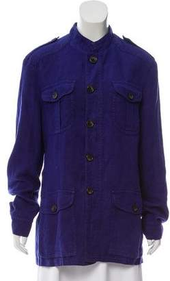 Etro Linen Casual Jacket