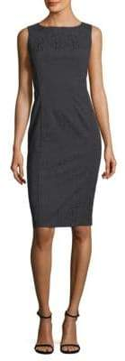Lafayette 148 New York Carmela Embossed Sheath Dress