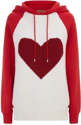 Burberry Heart Intarsia Hoodie
