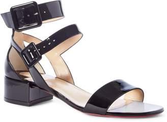 76c621e7983 Christian Louboutin Black Heeled Women s Sandals - ShopStyle