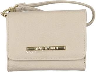 Steve Madden Women's French Wristlet Tri-Fold Wallet
