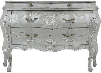 One Kings Lane Vintage Louis XV-style Bombay Chest of Drawers - Castle Antiques & Design