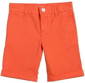 Cotton Gabardine Shorts