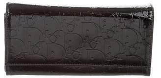 Christian Dior Logo Compact Wallet