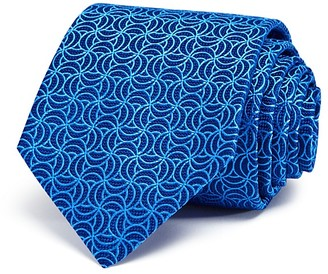 Turnbull & Asser Oval Spirals Classic Tie $195 thestylecure.com