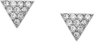 Fossil Triangle Stud Earrings