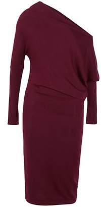 Tom Ford Draped Cashmere And Silk-Blend Dress