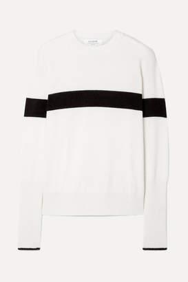 La Ligne - Striped Cashmere Sweater - Cream