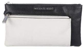 MICHAEL Michael Kors Leather Wrist Pouch
