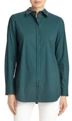 Lafayette 148 New York Palace Striped Shirt