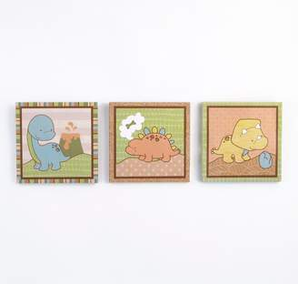 CoCalo Baby Baby Dinomite 3-pc. Canvas Wall Art Set