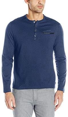 Calvin Klein Men's Long Sleeve Henley Shirt