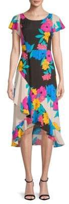 Plenty by Tracy Reese Floral-Print Ruffled Dress