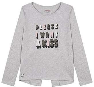 Chipie Girl's Embrasse T-Shirt,(Manufacturer Size: 10A)