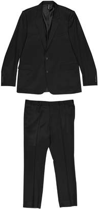 Christian Dior Black Wool Suits