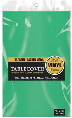 Amscan Everyday Flannel-Backed Vinyl Tablecloth