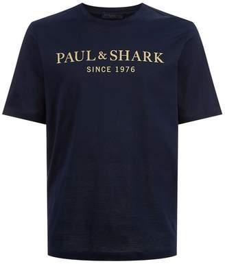 Paul & Shark Logo T-Shirt