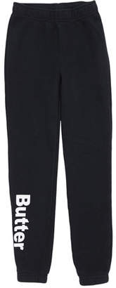 Butter Shoes Solid Fleece Varsity Logo Sweatpants, Size S-XL