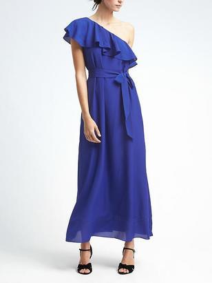 One-Shoulder Maxi Dress $148 thestylecure.com
