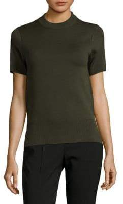 DKNY Reversible Merino Wool Blend Sweater