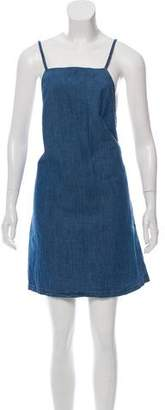 3x1 Sleeveless Denim Mini Dress